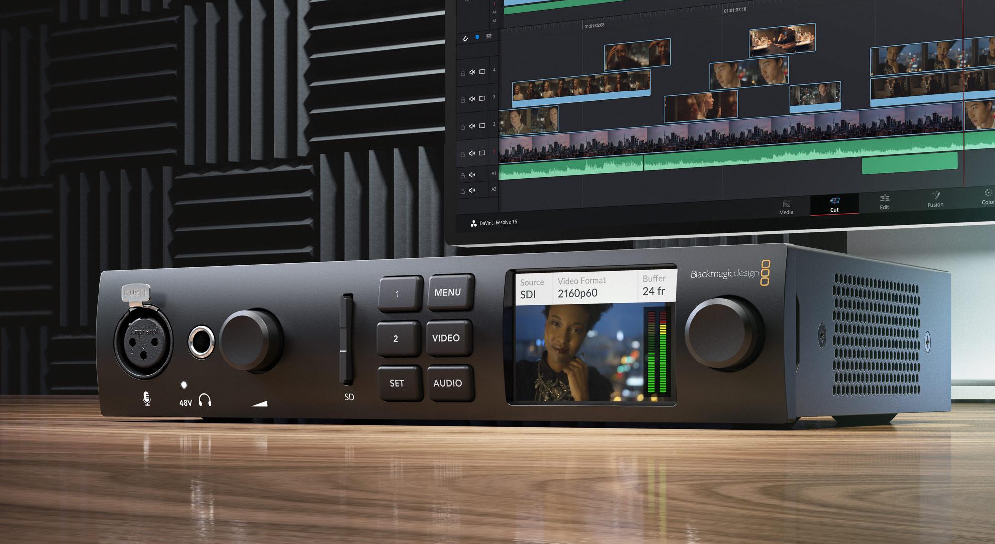 Blackmagic Design Announces New Ultrastudio 4k Mini Broadcasting Cable