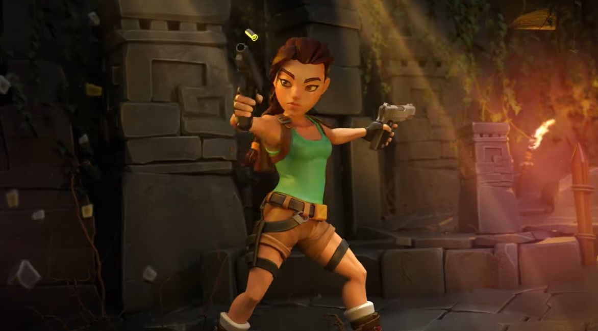 Tomb Raider Reloaded has a