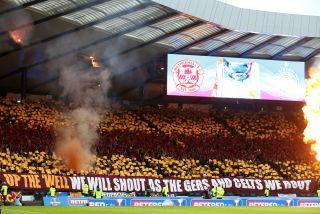 Motherwell v Celtic – Betfred Cup Final – Hampden Park