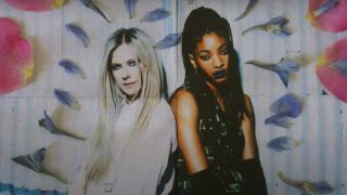 Willow and Avril Lavigne