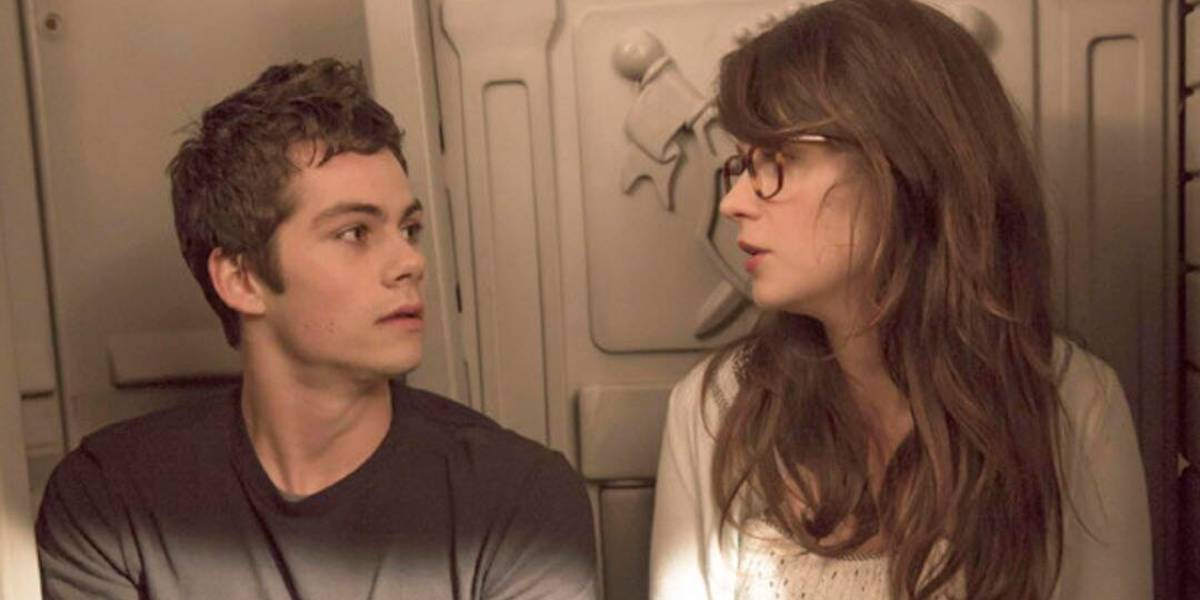 Dylan O'Brien and Zooey Deschanel on Prom Night in New Girl