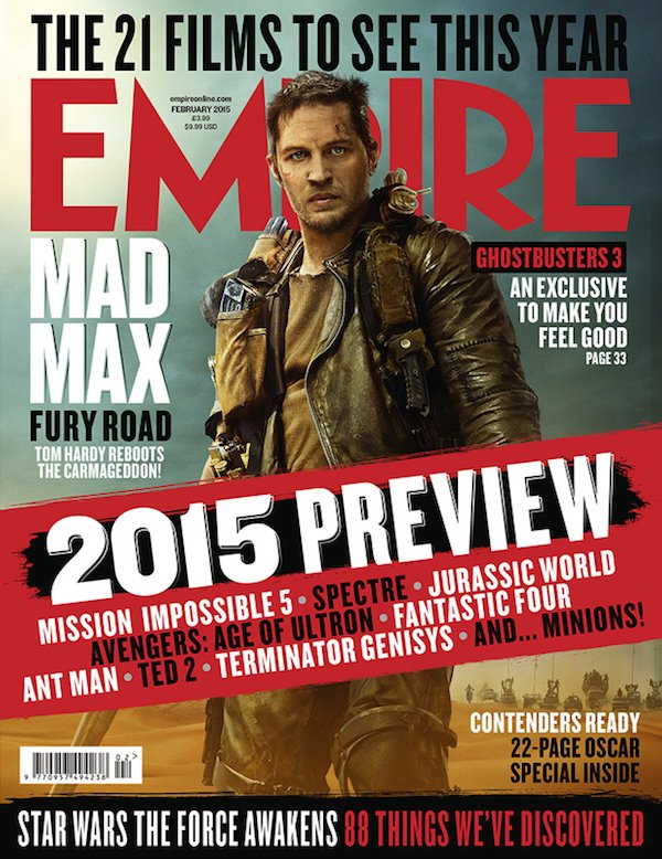 Mad Max Fury Road Empire cover 2