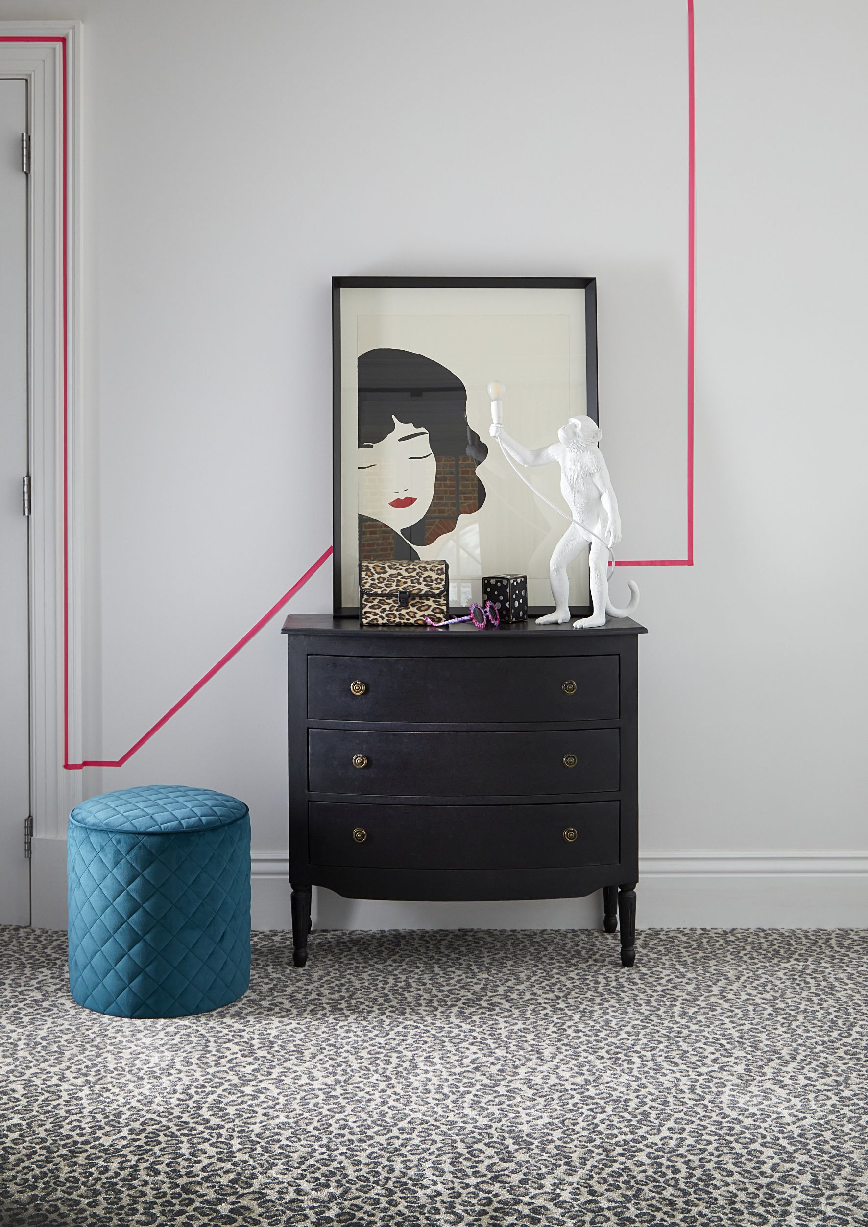 Wall Paint Design Ideas With Tape 50 Inspiring Patterns And Effects Livingetc