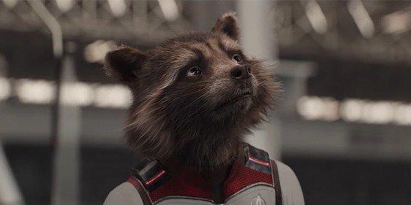 Rocket in his Quantum Suit