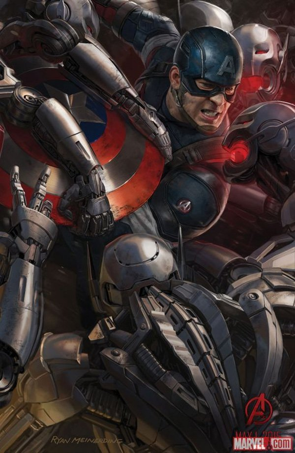 Avengers 2 Comic-Con Concept Art Captain America