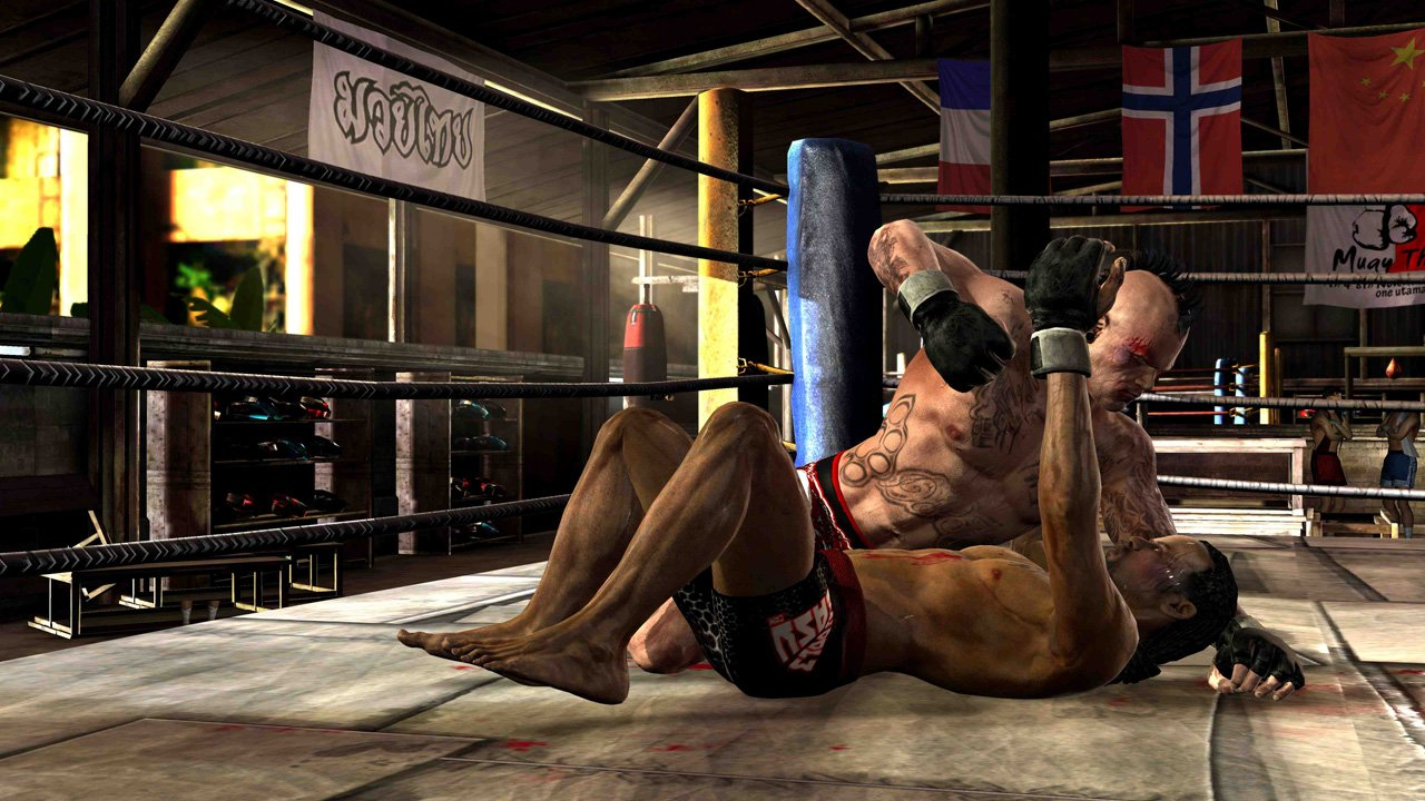 Supremacy MMA Takedown And Submission Screenshots Released #18586