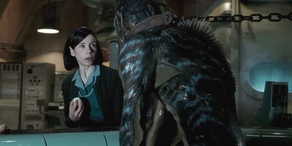 The Shape of Water Sally Hawkins meets the creature