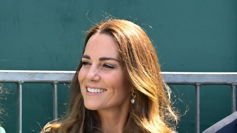 Kate Middleton was spotted with a rarely-seen accessory at Wimbledon this morning