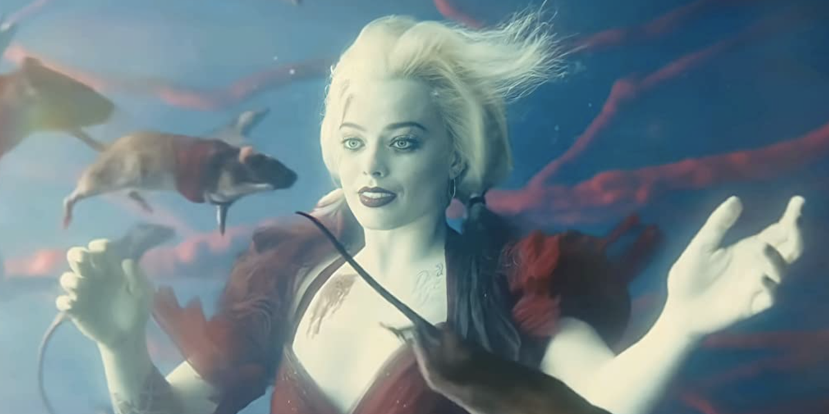 Harley underwater in The Suicide Squad