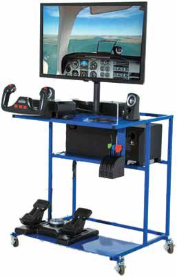 HotSeat's Edustation flight simulator