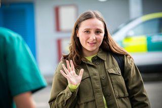 Jade Lovall leaves Casualty