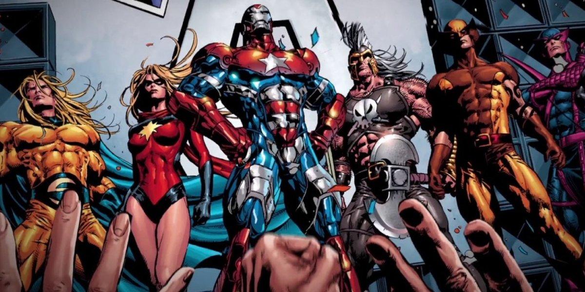 The Dark Avengers from Marvel Comics