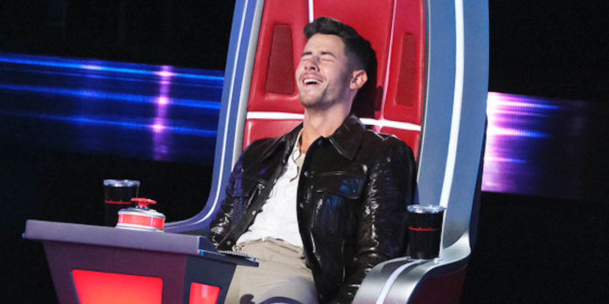 The Voice Nick Jonas