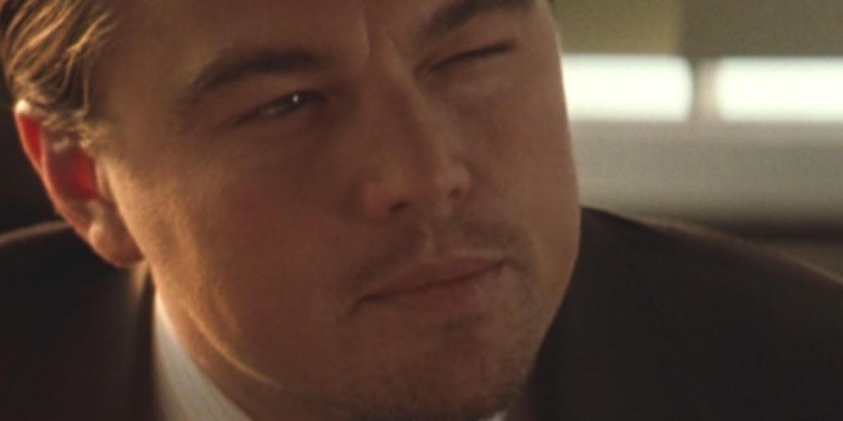Leo D. squinting