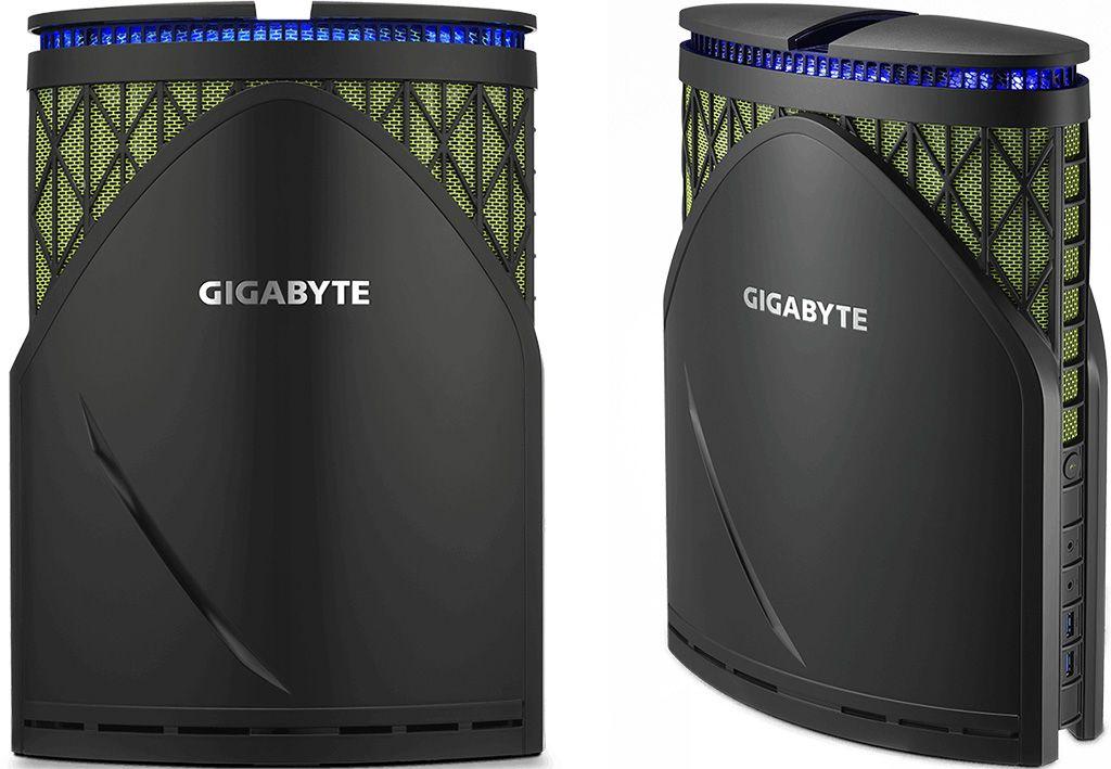 Gigabyte Brix Gaming Gt Desktop Wields A Geforce Gtx 1070
