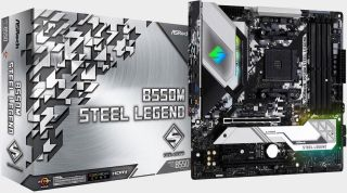 Building a compact gaming PC? ASRock's B550M Steel Legend is on sale for $110 after rebate