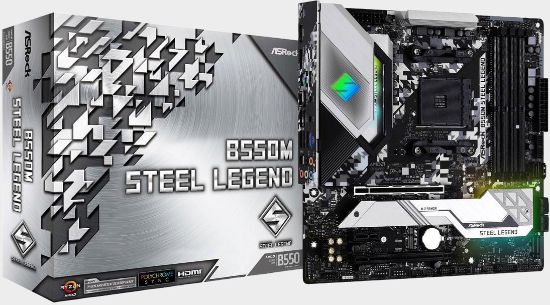 Building a compact AMD Ryzen PC? ASRock's B550M Steel Legend is on sale for $110