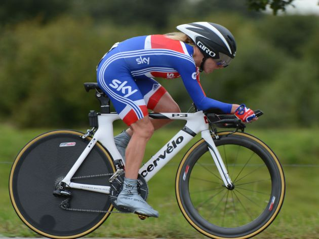 Emma Pooley, Women time trial, Road World Championships 2012