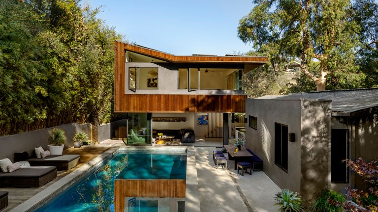 Modern treehouse home