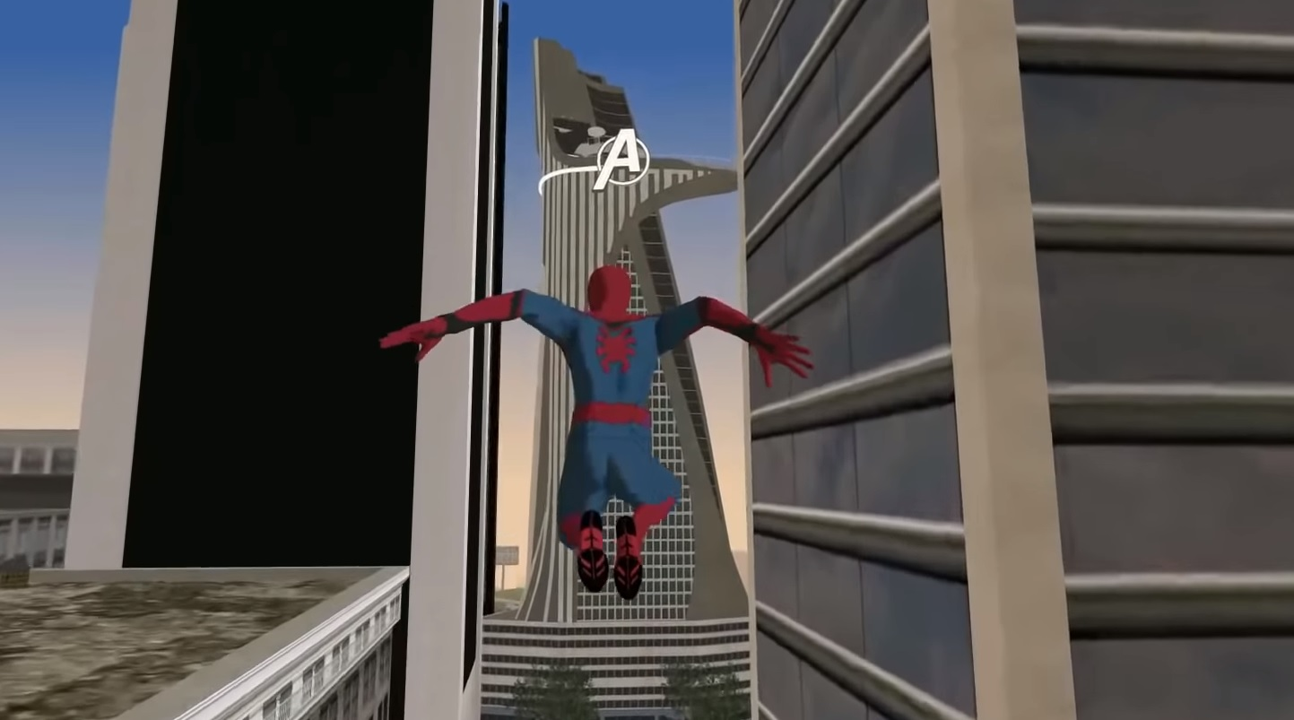 This Spider-Man mod for San Andreas almost looks like the