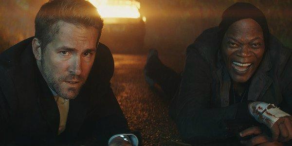 The Hitman's Bodyguard Samuel L. Jackson Ryan Reynolds