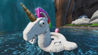 fortnite unicorn floaties search swimming holes