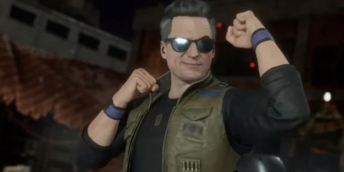 Johnny Cage in the games