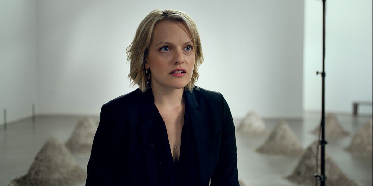 Elisabeth Moss - The Square