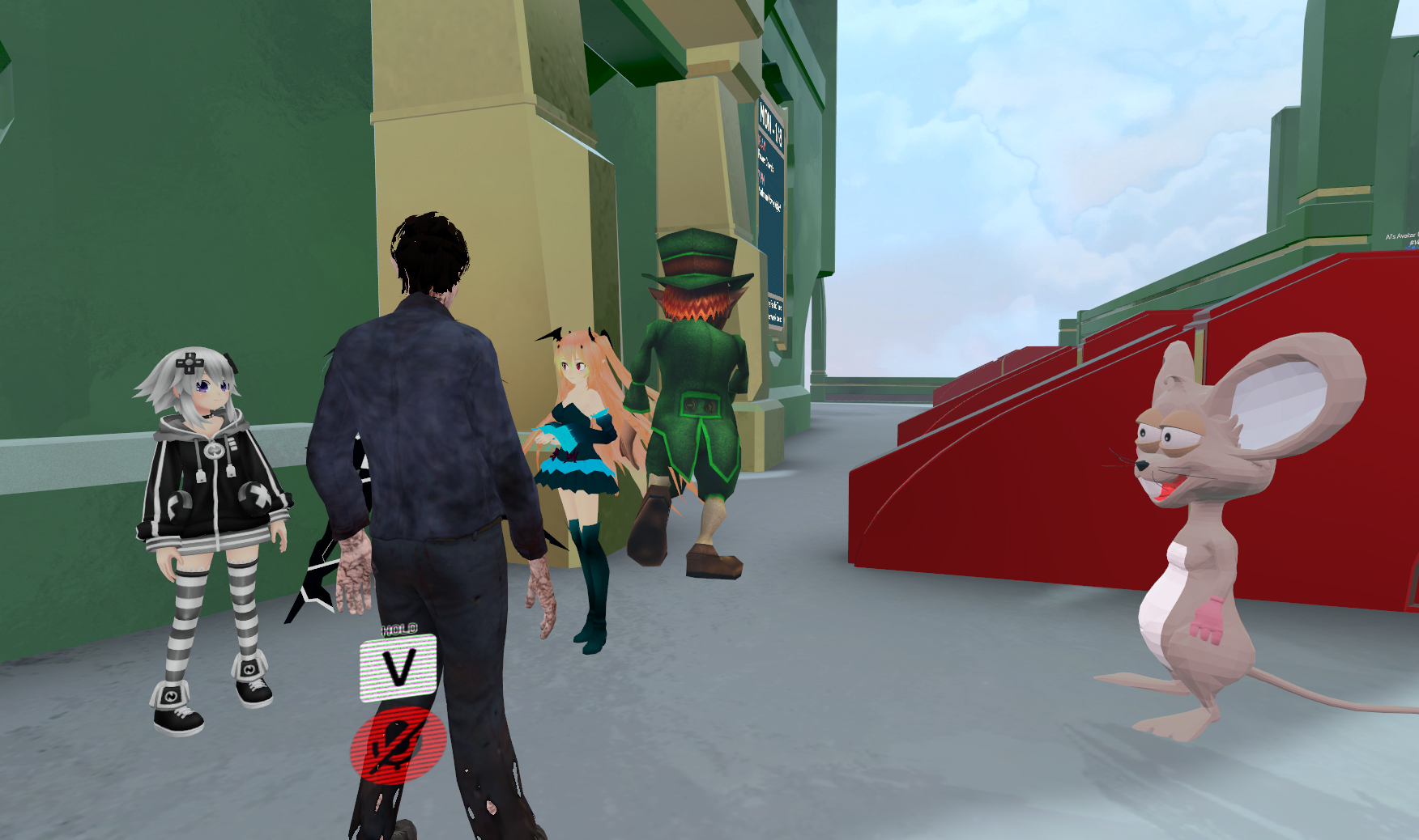 VRChat's surge in popularity has created a bizarre scene