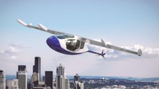 An artist's impression of the Rolls Royce flying taxi