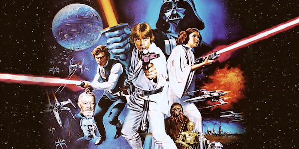 Artwork of the Star Wars: A New Hope cast