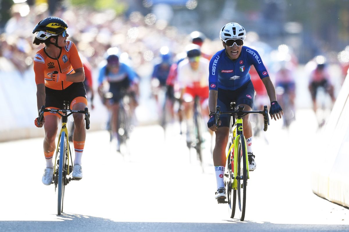 Marianne Vos: 'Silver was all I could do' as Dutch spell over rainbow jersey is broken