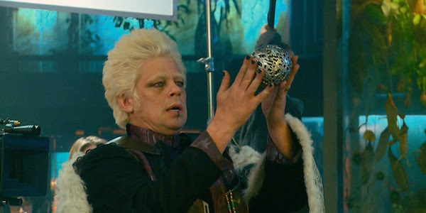 Del Toro as the Collector in Guardians of the Galaxy