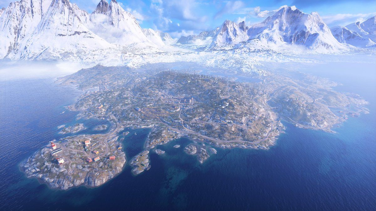 Battlefield 5 Firestorm map is 10 times larger than the game's biggest map