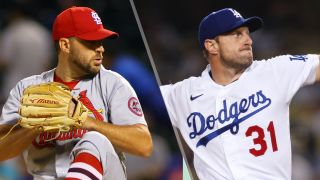 Adam Wainwright and Max Scherzer will face-off in the Cardinals vs Dodgers live stream