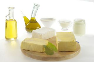 Fat containing foods, oils, milk, dairy