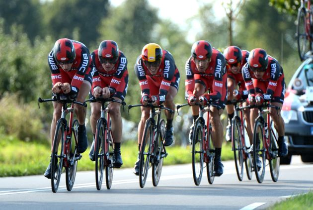 BMC, men's TTT, World Championships 2012, team time trial