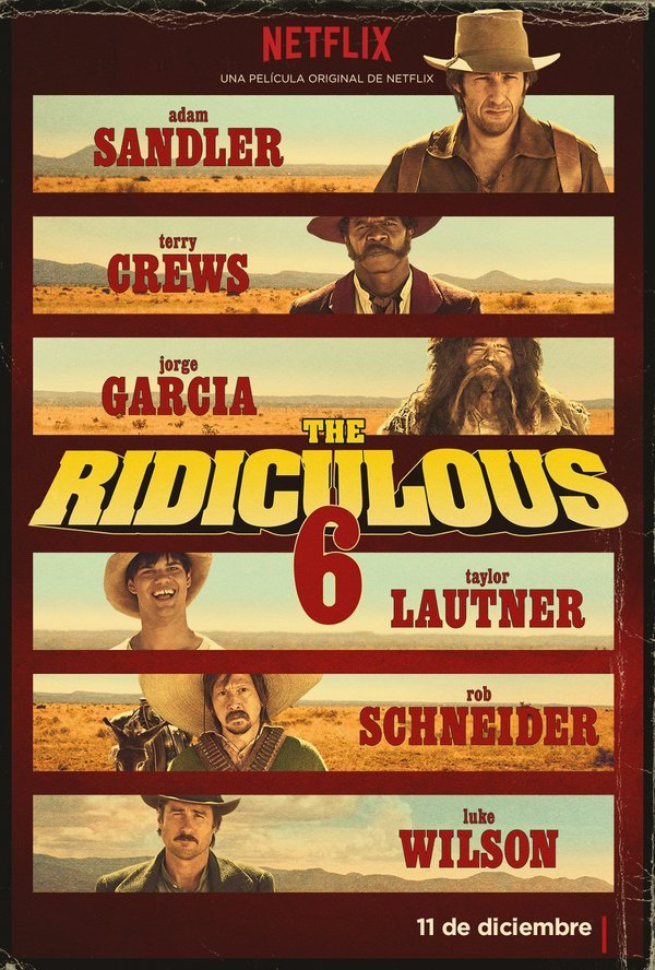 Ridiculous Six poster