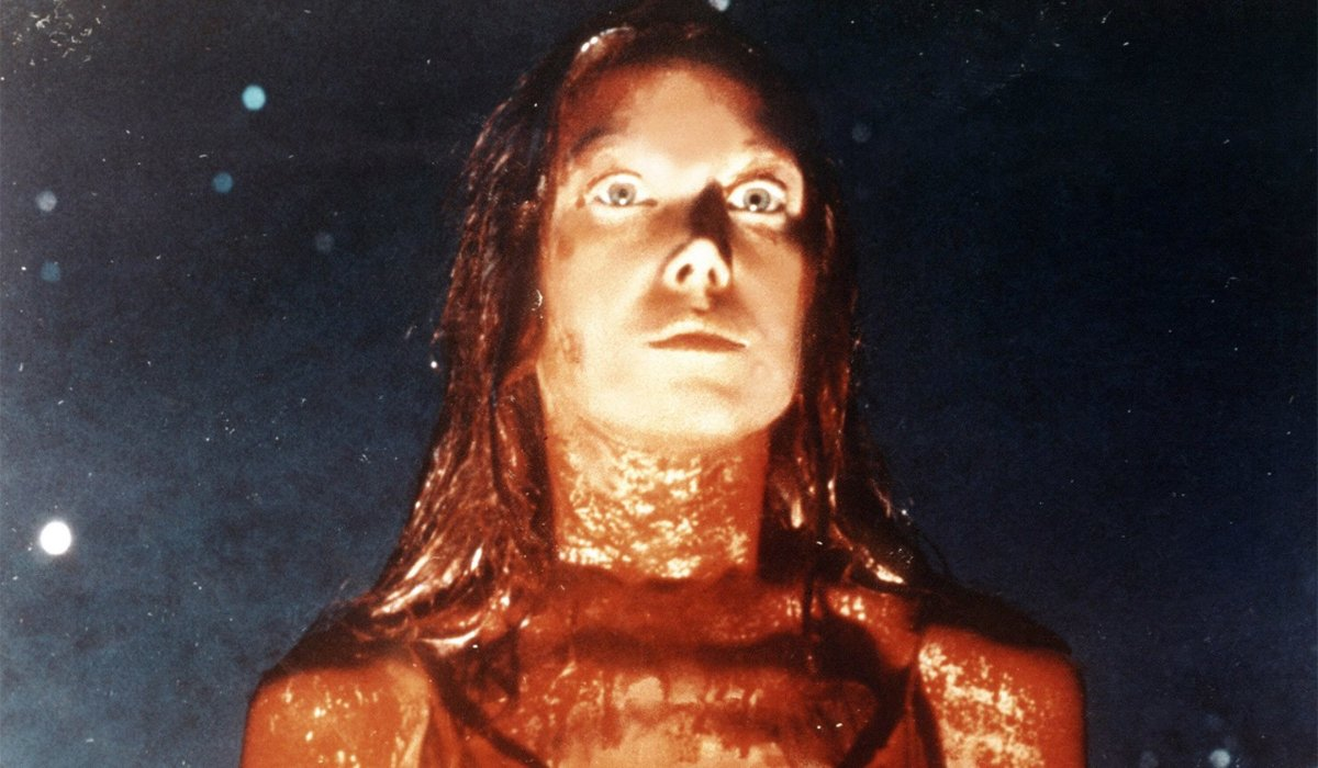 Carrie Sissy Spacek covered in blood