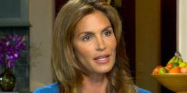 Why Cindy Crawford Was Scared Of Turning 50