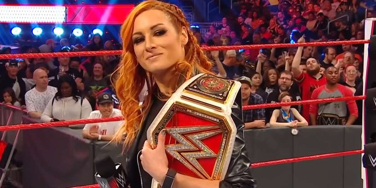 Becky Monday Night Raw USA