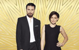 Celebrity Big Brother - Picture shows: Presenter Rylan Clark-Neal and Emma Willis