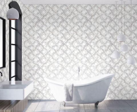 18 Bathroom Wallpaper Ideas The Best, Bathroom Wallpaper Patterns