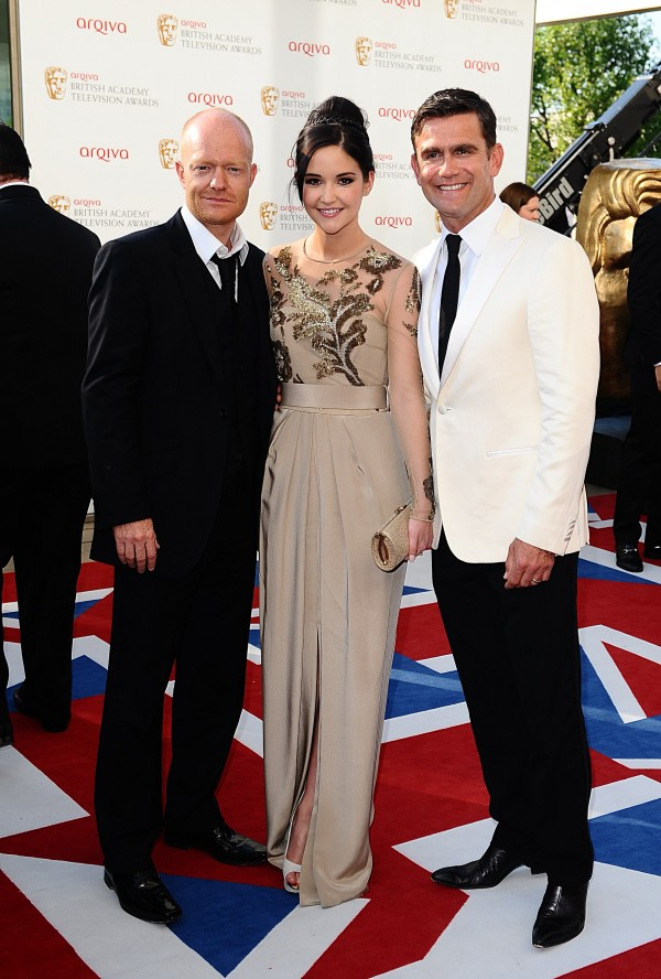 Jake Wood, Jacqueline Jossa and Scott Maslen