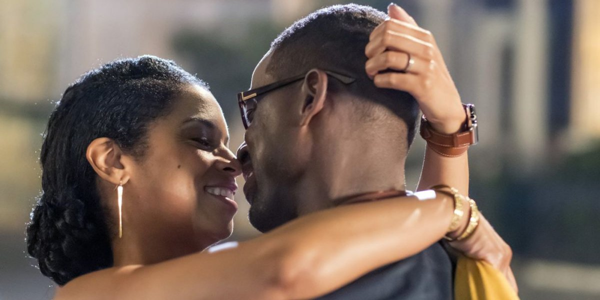 Beth and Randall in This Is Us.