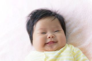 asian large baby