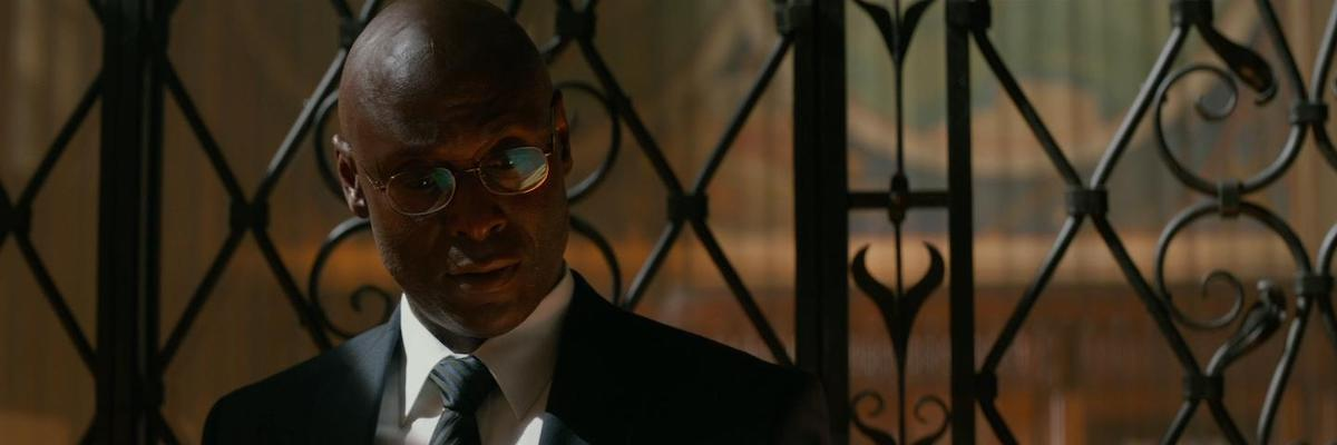 Lance Reddick as Charon in John wick: Chapter 2