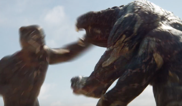 Black Panther versus... The Predator?
