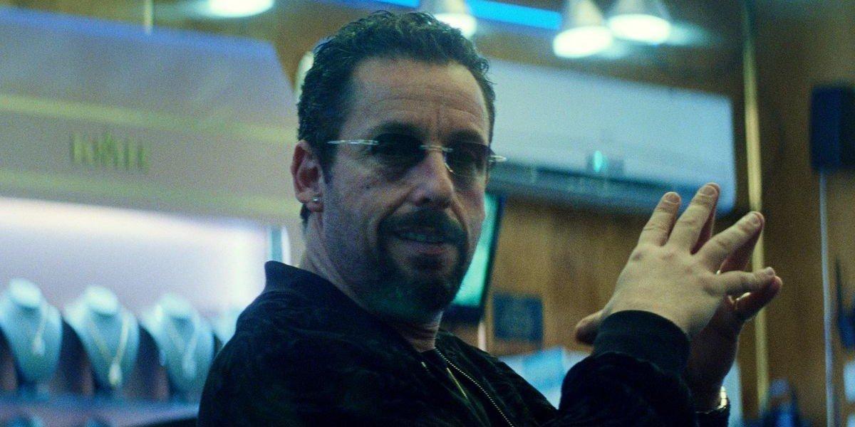 Adam Sandler as Howard Ratner in Uncut Gems.