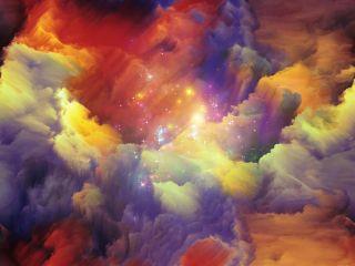 dreamy, cloud, dream sequence